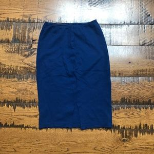 American Apparel Mid-length Pencil Skirt sz.L NEW